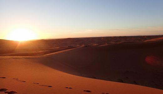 サハラ砂漠で英語がスムーズに出てこないことを悔やんだ話(前編)